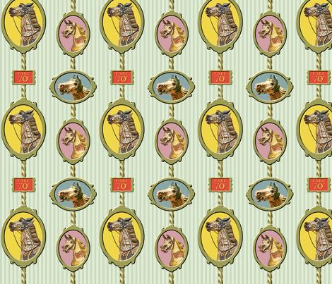 Carousel Horses fabric by sammyb on Spoonflower - custom fabric