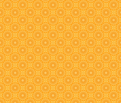 Citrus Glitz fabric by rhondadesigns on Spoonflower - custom fabric