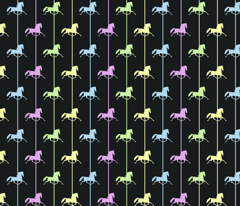 Night at the Fair fabric by jeezvanilla on Spoonflower - custom fabric
