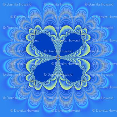 Petals in Blue
