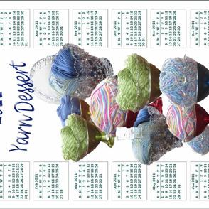 2011 yarn dessert calendar