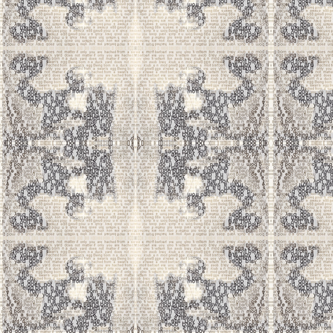 hansuglyduck1 fabric by _vandecraats on Spoonflower - custom fabric