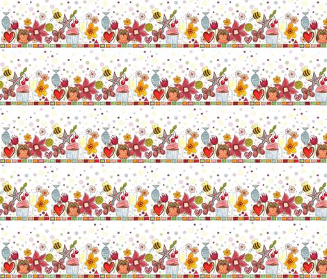 scrummy celebration stripe fabric by scrummy on Spoonflower - custom fabric