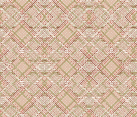 Vintage Shabby Rosé Diamond fabric by kristopherk on Spoonflower - custom fabric