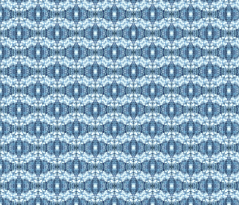 Blue Batik fabric by koikuri on Spoonflower - custom fabric