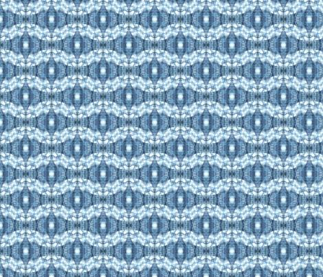 Blue Batik fabric by koikuri on Spoonflower - custom fabric