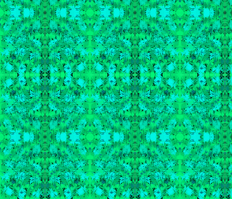 GREEN_TILE_A1 fabric by knitman on Spoonflower - custom fabric