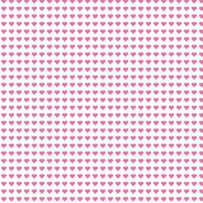 Small Pink Heart Micro Print
