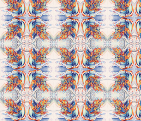 Cold Fury fabric by elfiedoughnut on Spoonflower - custom fabric