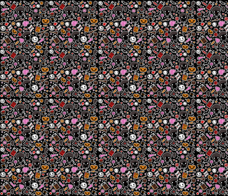 halloween3 fabric by samtronika on Spoonflower - custom fabric