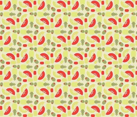 TIki Weekend 2 fabric by acbeilke on Spoonflower - custom fabric