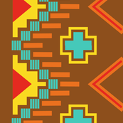 Tribal Border Print