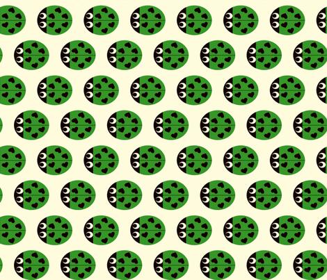 Luckybugs fabric by kaddy_w on Spoonflower - custom fabric