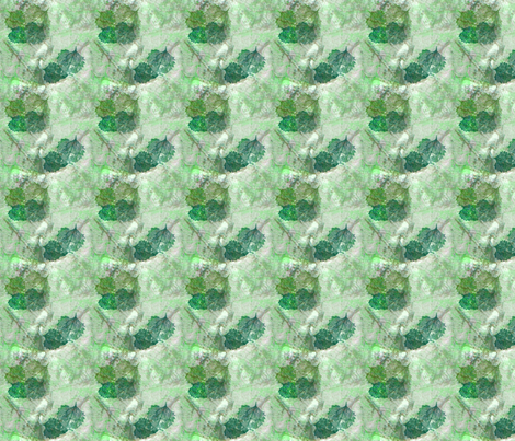 Green_Leaf_Detail fabric by snooky on Spoonflower - custom fabric