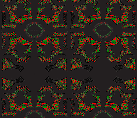 JamJax_38red_green-ch fabric by jamjax on Spoonflower - custom fabric
