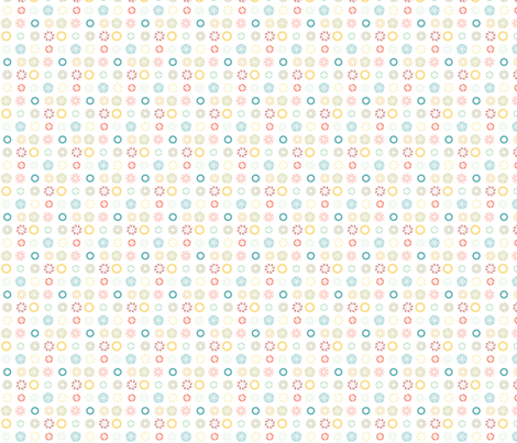 Button Outlines fabric by srbracelin on Spoonflower - custom fabric
