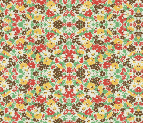 Old Fashioned Autumn fabric by relicfawn on Spoonflower - custom fabric
