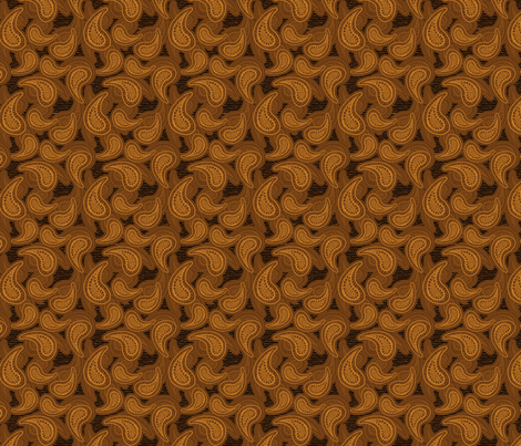 Paisleez2 fabric by visualbacon on Spoonflower - custom fabric