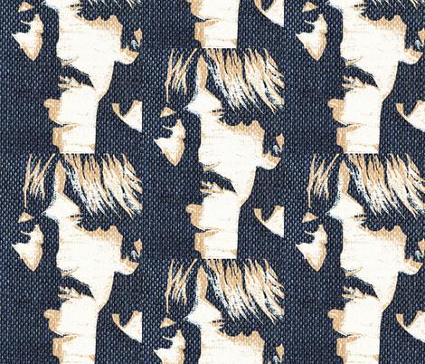 Rock'in denim fabric by paragonstudios on Spoonflower - custom fabric