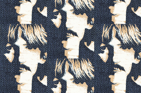 Rock & Roll Denim fabric by paragonstudios on Spoonflower - custom fabric