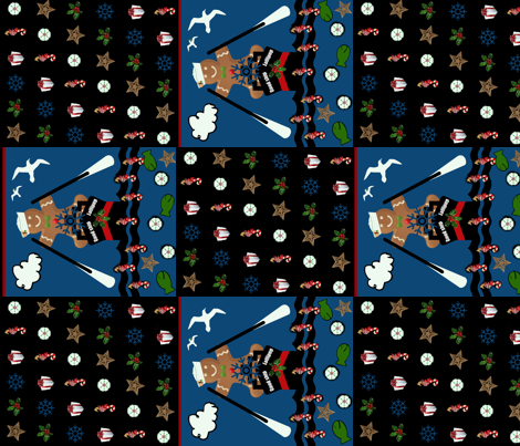 A Good Ship Cheater quilt fabric by paragonstudios on Spoonflower - custom fabric