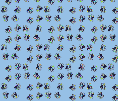 Boys Mad Hatter Tea fabric by may_flynn on Spoonflower - custom fabric