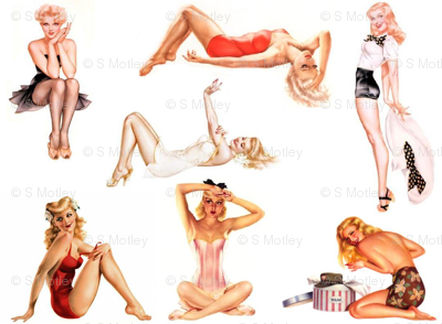 Pinup Blondes