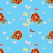 Rmoths_and_marigold_pattern_-_cyan50_shop_thumb