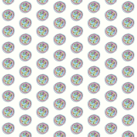 Holiday Circle fabric by captiveinflorida on Spoonflower - custom fabric