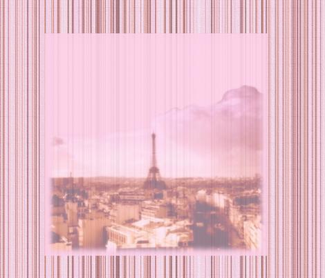 La Vie en Rose Striped Square