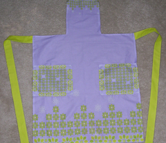 Leaf Flowers Apron