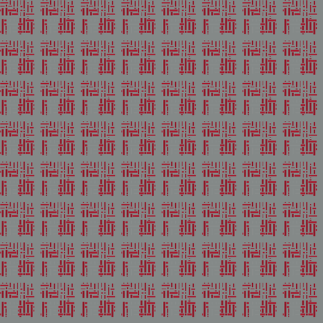 Orientalish in Red © 2009 Gingezel Inc. fabric by gingezel on Spoonflower - custom fabric