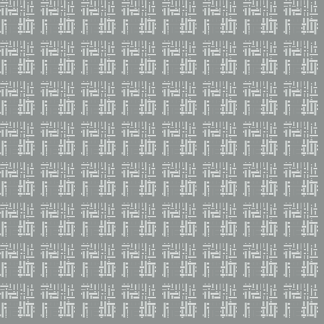 Orientalish in White © 2009 Gingezel Inc. fabric by gingezel on Spoonflower - custom fabric