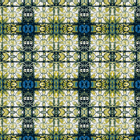 Adire - Blues syndrome fabric by susaninparis on Spoonflower - custom fabric