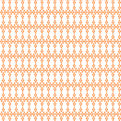 DIAMOND carrot fabric by heatherrothstyle on Spoonflower - custom fabric