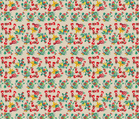 Village Girls -293 fabric by kkitwana on Spoonflower - custom fabric