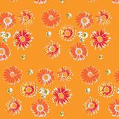 floral orange delight