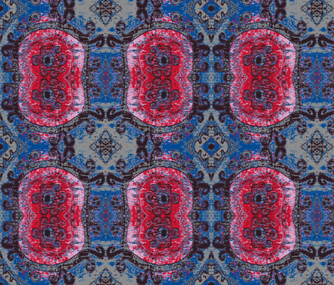Red Rose 2 fabric by susaninparis on Spoonflower - custom fabric