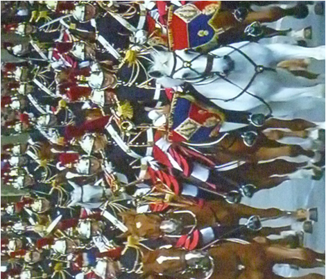 French Calvary on Parade, Bastille Day 2012