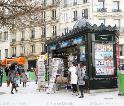 News Kiosk, Paris