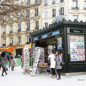 News Kiosk, Paris