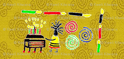 Kwanzaa Movement-Gold-298