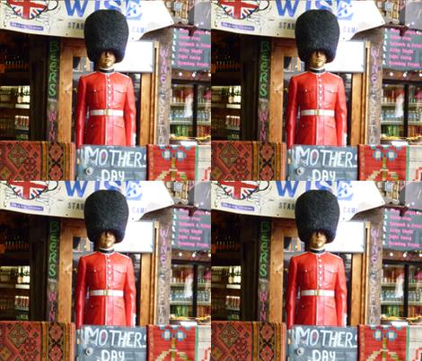 London Grenadier Guard fabric by susaninparis on Spoonflower - custom fabric