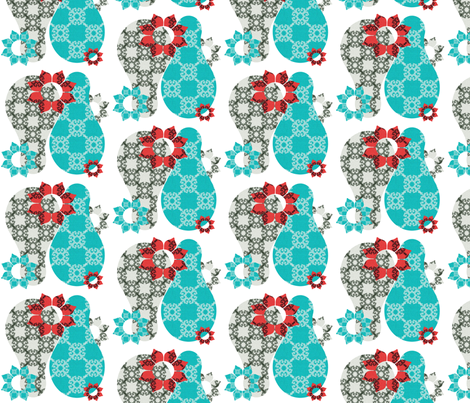 gourd_pattern fabric by snork on Spoonflower - custom fabric