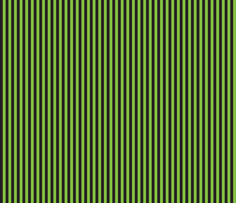 "Lime/black Halloween 1/4"" stripe fabric by bellamarie on Spoonflower - custom fabric"