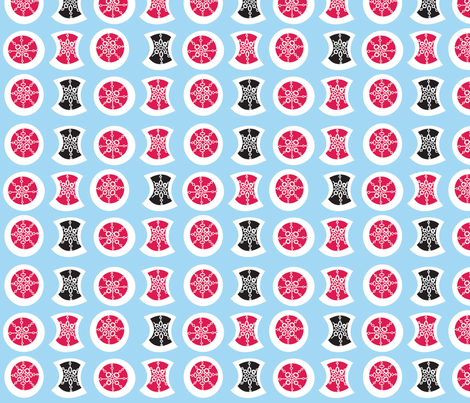 Snowflakes fabric by acbeilke on Spoonflower - custom fabric