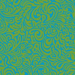 swirl botanical - lima