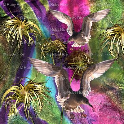 ClematisTwirl Birds