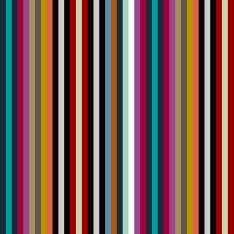 geo town stripe fabric by scrummy on Spoonflower - custom fabric