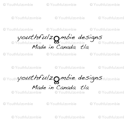 Youthfulzombie Quilt label